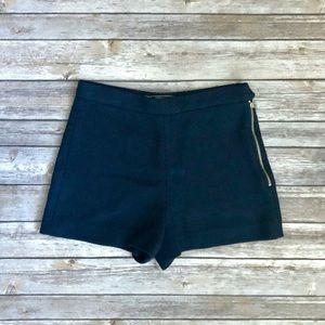 Navy Blue Zara Shorts